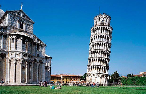 15 найкращих пам`яток Європи: Пізанська вежа