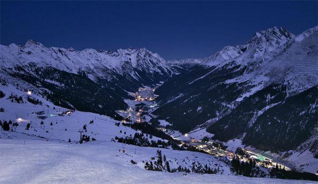 Кращі гірськолижні курорти австрії