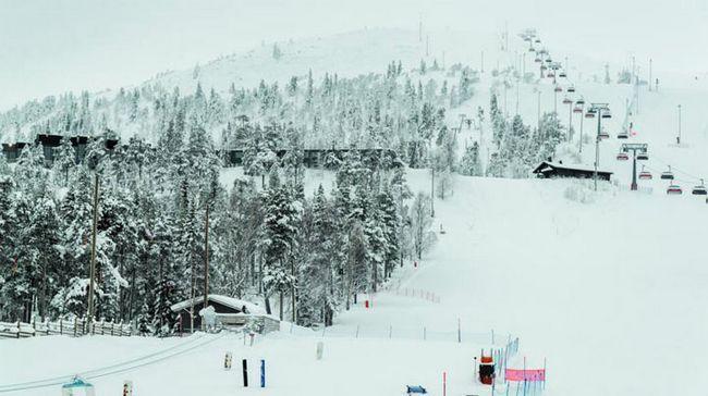 гірськолижні курорти Фінляндії