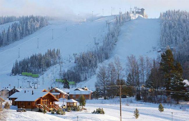 Фінляндія - місця для лижного відпочинку
