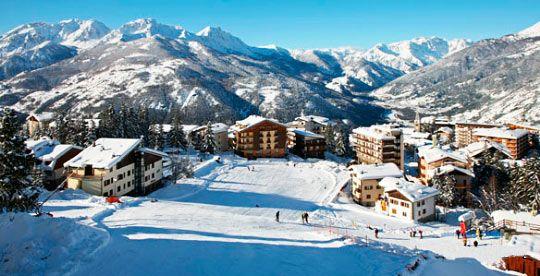 Кращі гірськолижні курорти італії