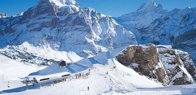 гірськолижні курорти Швейцарії