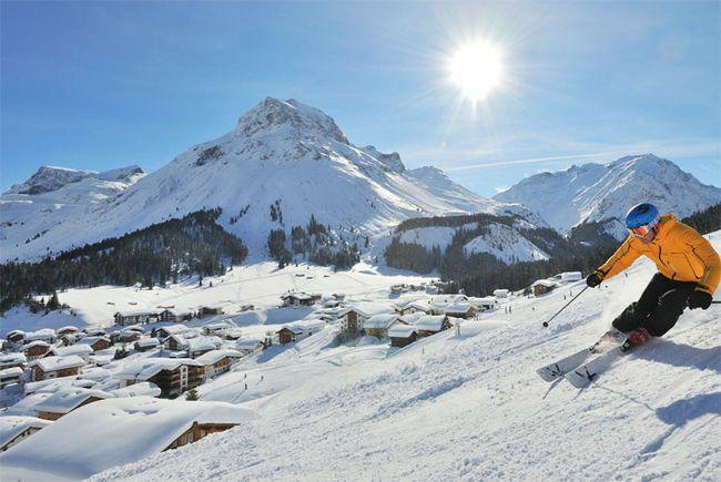 Кращі гірськолижні курорти в альпах