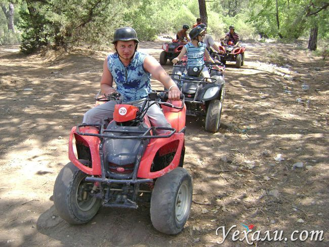 Екскурсія на квадроциклах в Туреччині