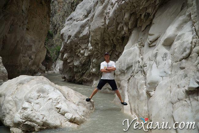 Каньйон Сакликент фото
