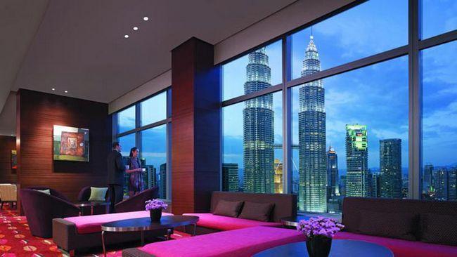 Кращі готелі Куала-Лумпура. На фото: Traders Hotel Kuala Lumpur.