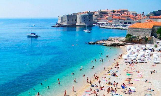 Кращі пляжі Хорватії