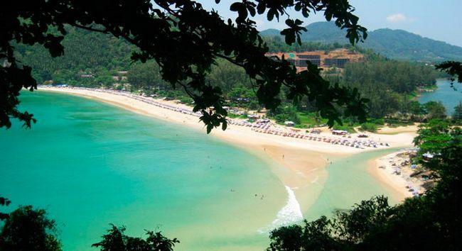 Кращий пляж Таїланду: Най-Харн