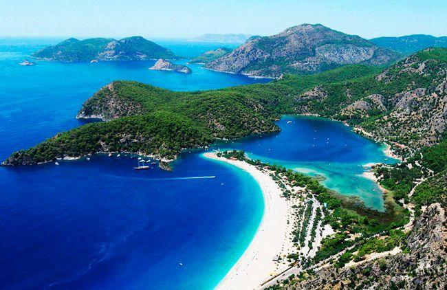 Кращі пляжі туреччині