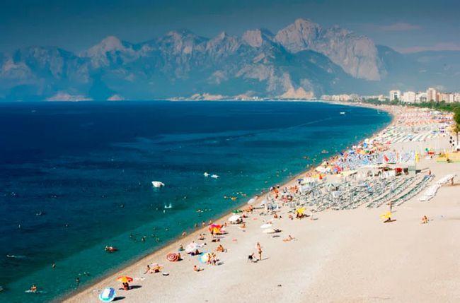 кращий пляж Анталії