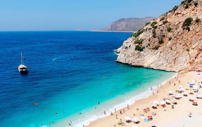 Найкращі пляжі в Туреччині: Капуташ