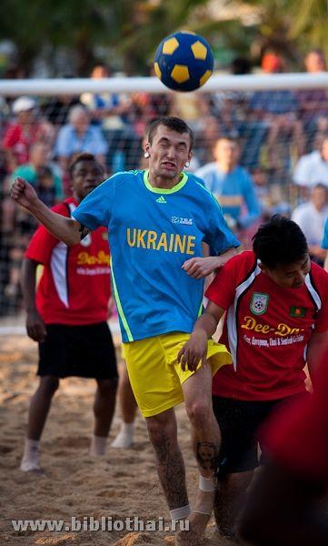 Міжнародний пляжний футбольний турнір в паттайя
