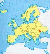 Молдавія на мапі