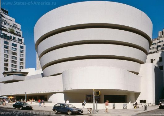 Музей гуггенхайма в нью-йорку