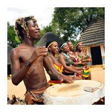 Барабан - найбільш популярний музичний інструмент Африки