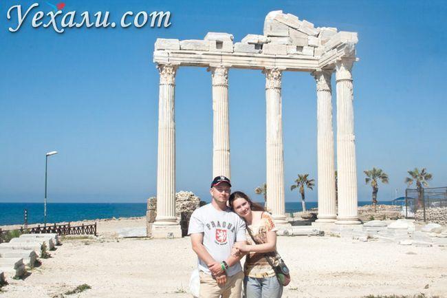 Туреччина, Сіде, храм Аполлона