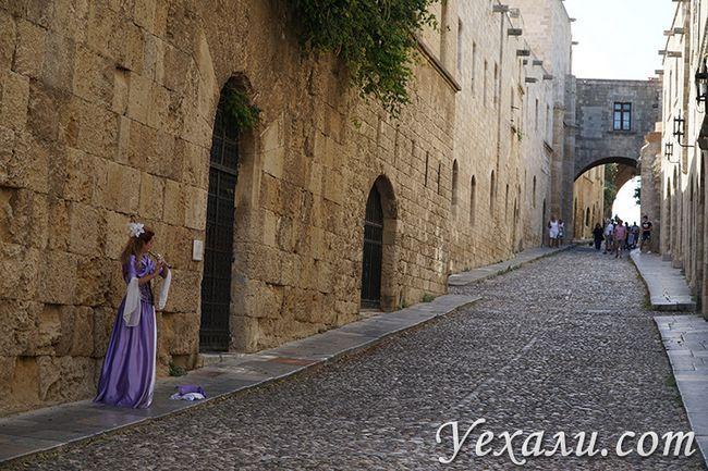 Туристичний маршрут по Греції, стародавнє місто на Родосі