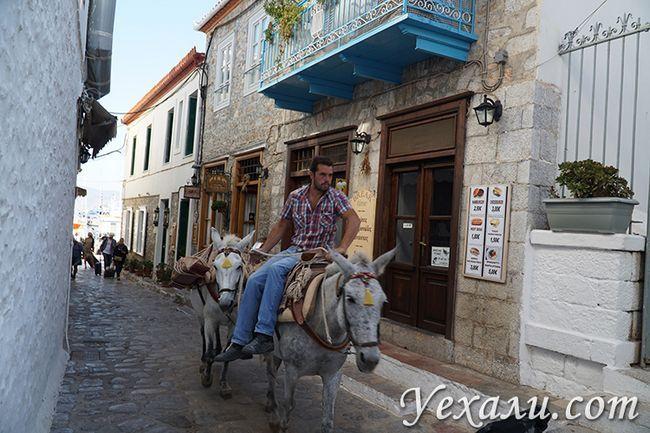 Острів Ідра в Греції