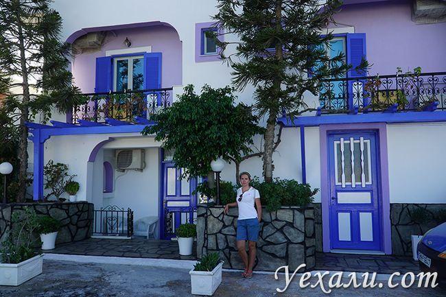 Маршрут по Греції, острів Санторіні