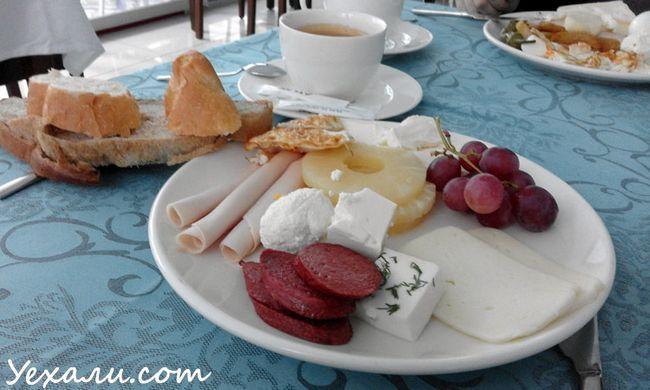 Сніданки в готелі все включено