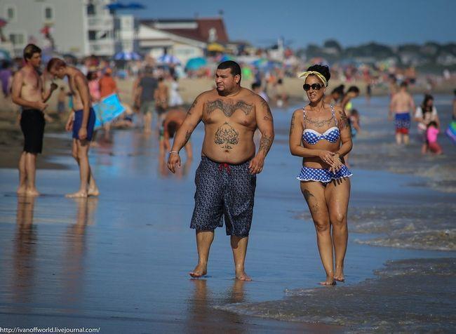 Негласні правила на американському пляжі. Мода і забави