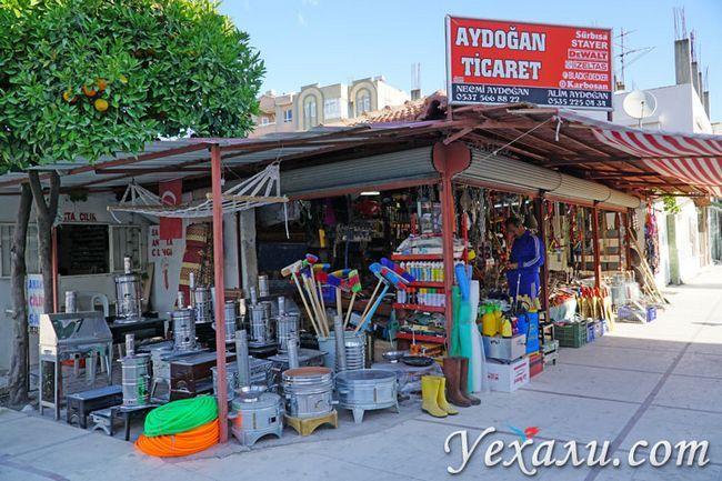 Нетуристичний Туреччина: магазин