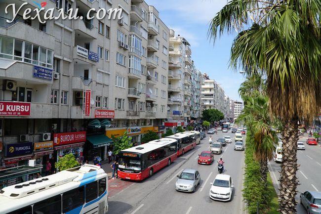 Нетуристичний Туреччина: вулиці Анталії
