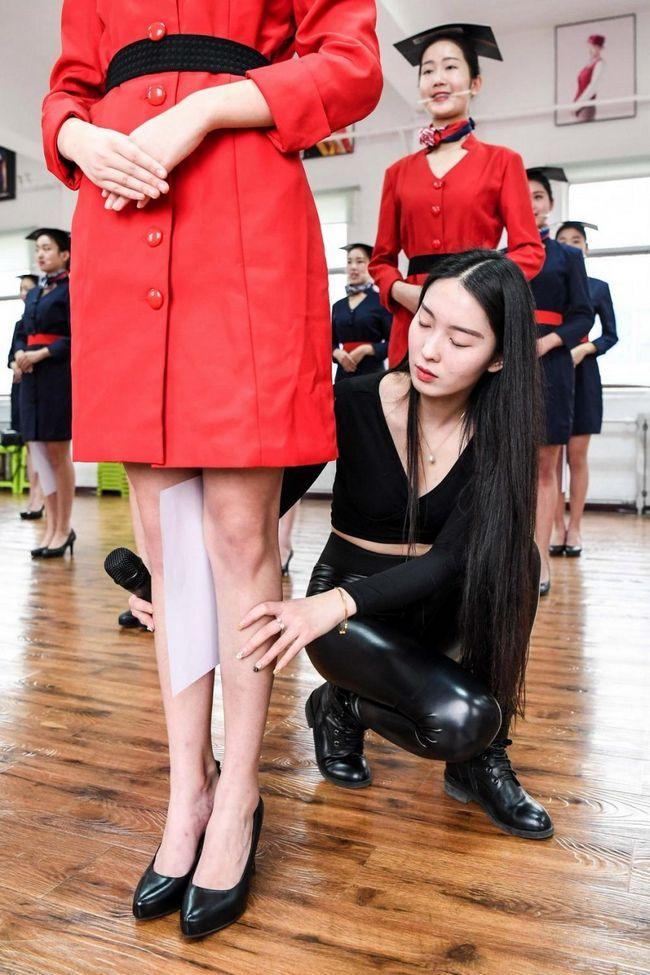 Навчання стюардес в Китаї