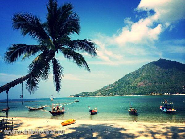 Опис пляжів острова пханган