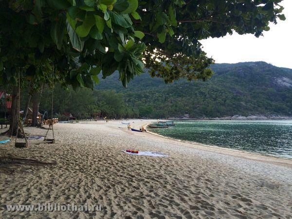 Пляж пляшок на Пханган