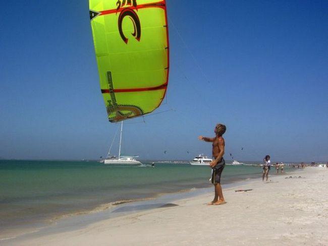 Острів коче (isla de coche) - білосніжні пляжі, кайтбординг (нуева-еспарта, венесуела)