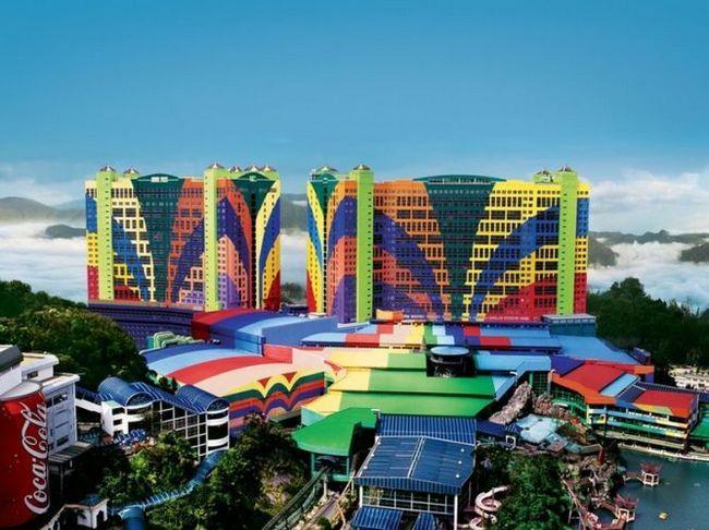 Готель first world - четвертий за величиною готель в світі, малайзія