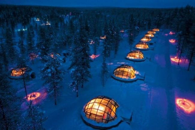 Готель какслаутаннен і село голку (hotel kakslauttanen igloo village) в фінляндії