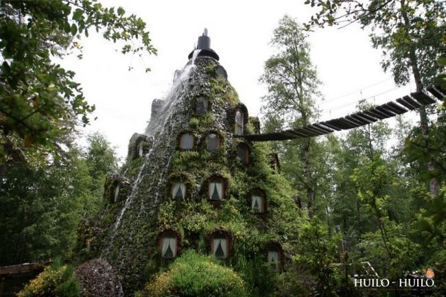Готель «magic mountain lodge» - чарівна гора-вулкан