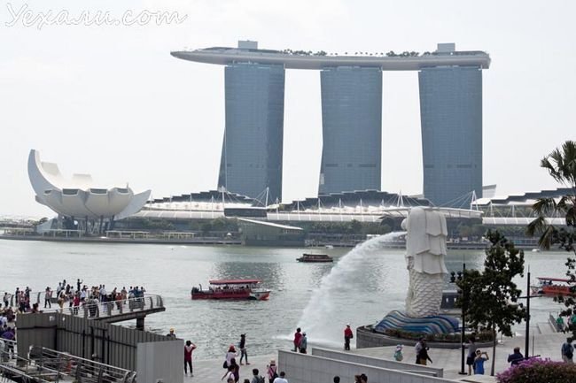 сингапур marina bay sands фото