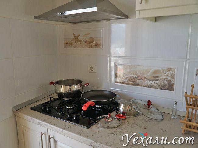 Плита на кухні в Каші