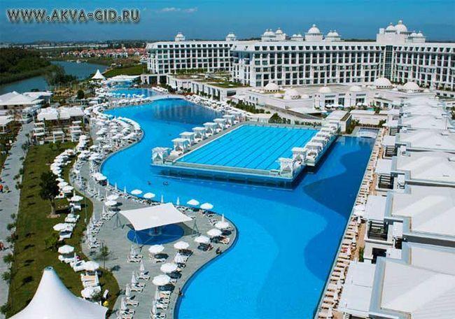 Готелі в туреччині з аквапарком.