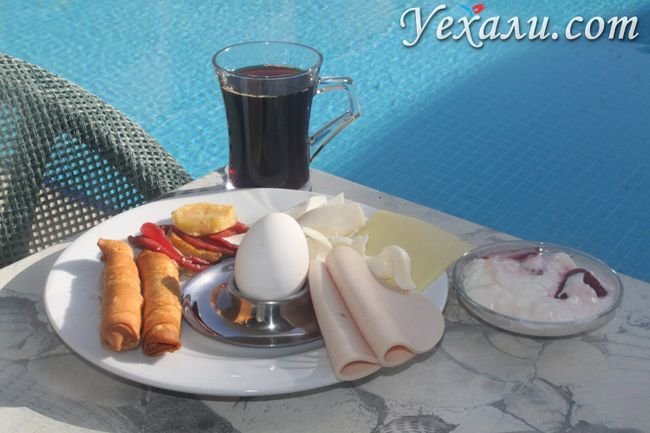 Сніданок у готелі