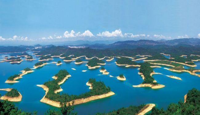 Озеро тисячі островів - цяньдаоху (qiandao), китай
