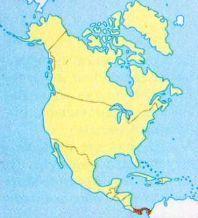 Панама на мапі