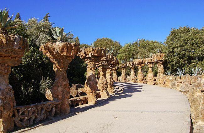 Парк Гуель. Іспанія