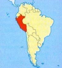 Перу на карті