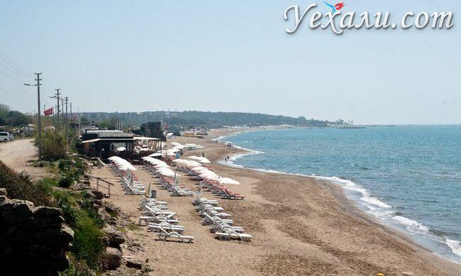 Східний пляж Сіде.