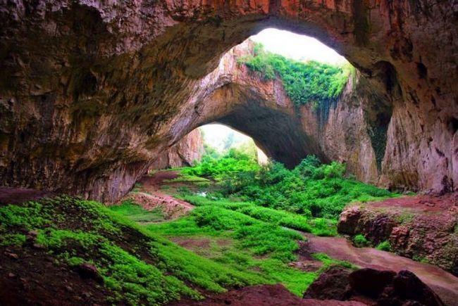 Печера деветашка (devetashka cave) - найбільша печера в європі, спритнішим, болгарія