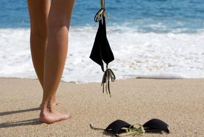 Пляж холовер (haulover beach), майами, флорида, сша