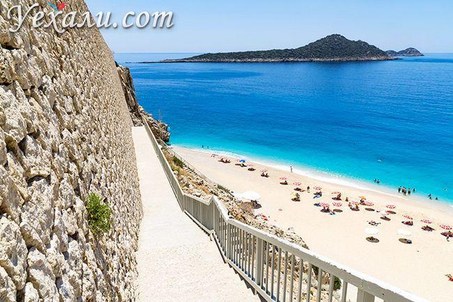 Кращі пляжі Туреччини: Капуташ.