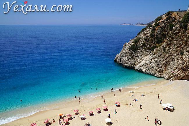 Кращі і найкрасивіші пляжі Туреччини: Капуташ.