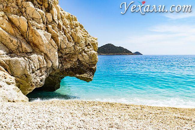 Рейтинг найкрасивіших пляжів Туреччини: пляж Капуташ.