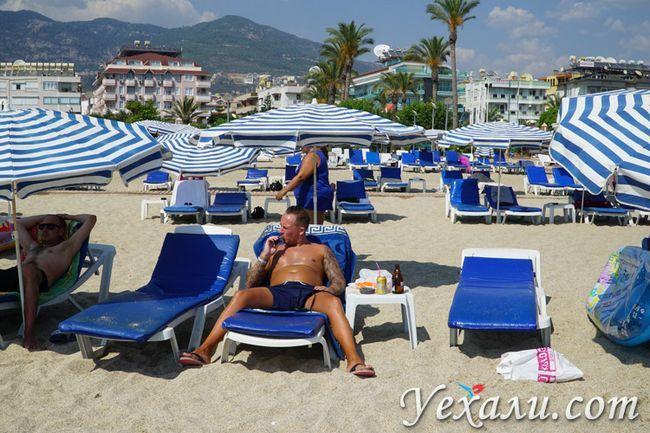 Пляж Клеопатри в Туреччині