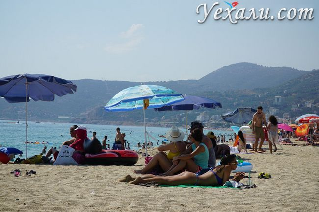 Фото пляжу Клеопатри.